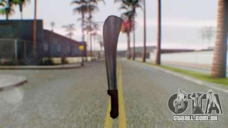 Vice City Machete para GTA San Andreas segunda tela