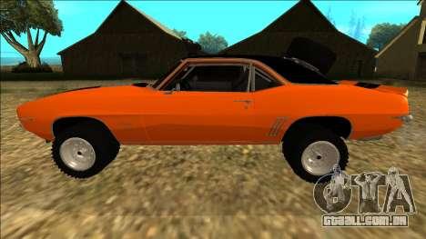 Chevrolet Camaro SS Rusty Rebel para GTA San Andreas
