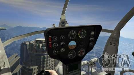 GTA 5 Hughes OH-6 Cayuse quinta imagem de tela