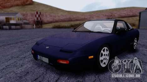 Nissan 240SX SE 1994 Stock para GTA San Andreas vista direita