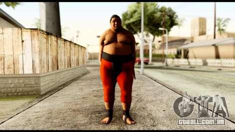 Yokozuna para GTA San Andreas segunda tela