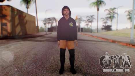 CM Punk 1 para GTA San Andreas segunda tela