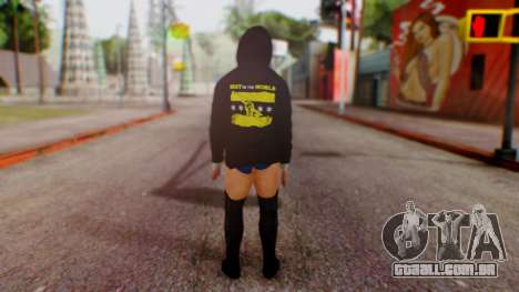 CM Punk 1 para GTA San Andreas terceira tela