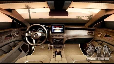 Mercedes-Benz CLS63 AMG 2015 para GTA San Andreas vista direita