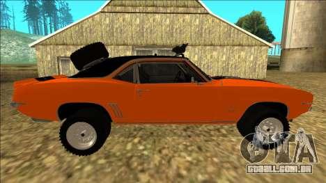 Chevrolet Camaro SS Rusty Rebel para o motor de GTA San Andreas