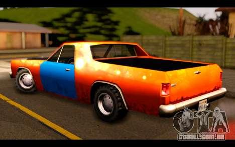 GTA SA Earl Picador para GTA San Andreas esquerda vista