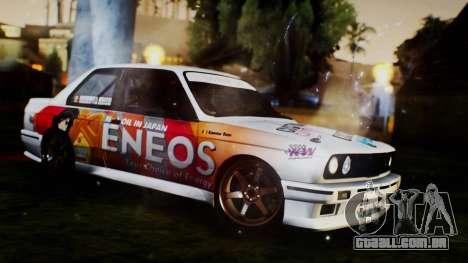 BMW M3 E30 Ramona Rusu para GTA San Andreas