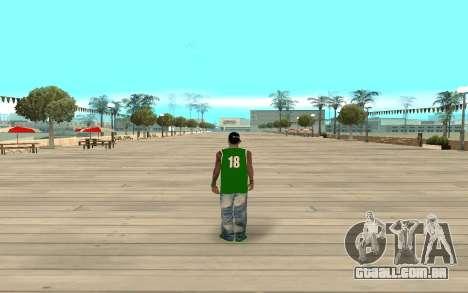Fam3 Eli Ball para GTA San Andreas terceira tela