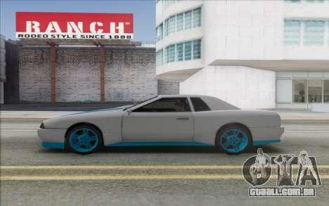 Elegy Drift King GT-1 [2.0] para GTA San Andreas vista direita