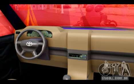 Admiral Crazy Edision Final Version 2016 para GTA San Andreas traseira esquerda vista