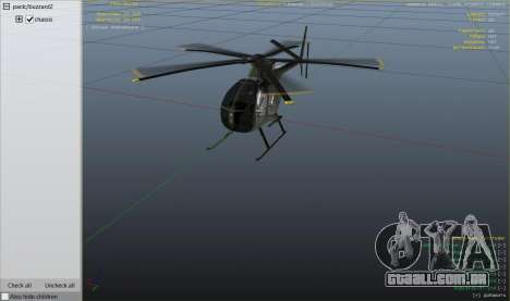 GTA 5 Hughes OH-6 Cayuse sexta imagem de tela
