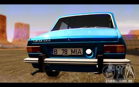 Dacia 1300 1969 para GTA San Andreas vista interior