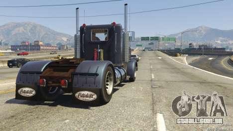 GTA 5 Peterbilt 289 voltar vista