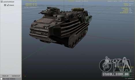 GTA 5 AAV-7A1 AMTRAC vista lateral direita