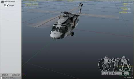 GTA 5 MH-60S Knighthawk nono screenshot