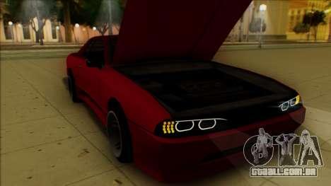 Elegy HellCat para GTA San Andreas vista inferior