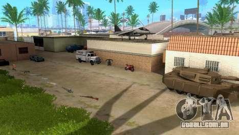 New Grove Street vehicles para GTA San Andreas
