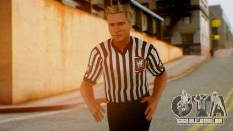 WWE Arbitro para GTA San Andreas
