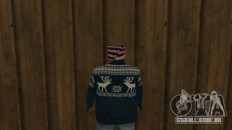 Ballas New Year Skin para GTA San Andreas terceira tela