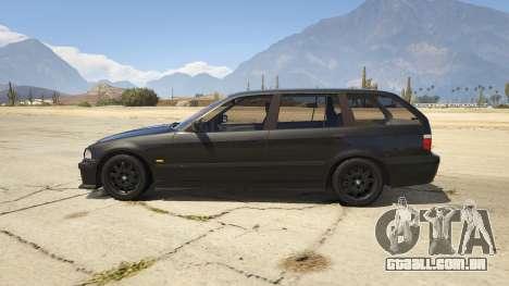 GTA 5 BMW M3 E36 Touring vista lateral esquerda