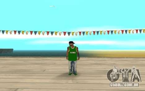 Fam3 Eli Ball para GTA San Andreas segunda tela