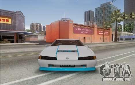 Elegy Drift King GT-1 [2.0] para GTA San Andreas traseira esquerda vista
