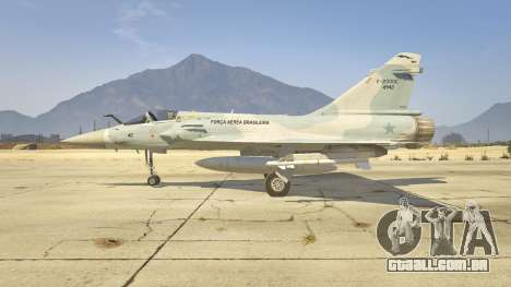 GTA 5 Dassault Mirage 2000-C FAB segundo screenshot