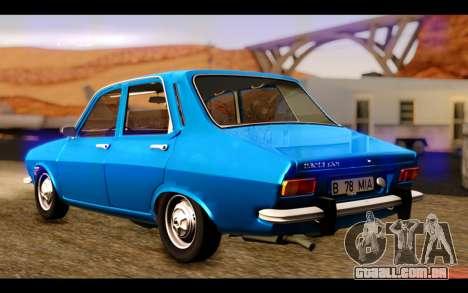 Dacia 1300 1969 para GTA San Andreas esquerda vista