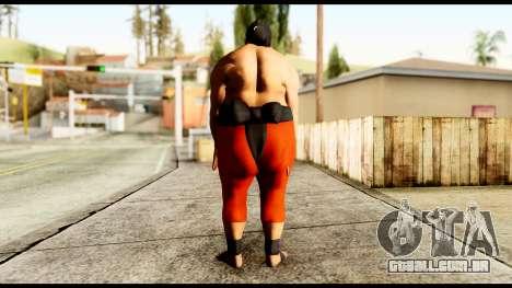 Yokozuna para GTA San Andreas terceira tela
