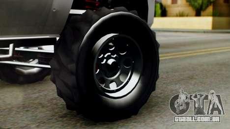 GTA 5 Vapid Sandking SWB para GTA San Andreas traseira esquerda vista