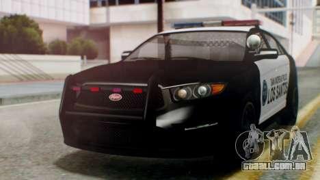 GTA 5 Police LS para GTA San Andreas