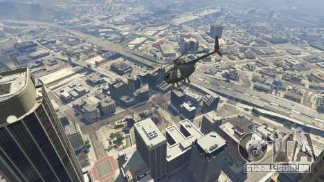 GTA 5 Hughes OH-6 Cayuse quarto screenshot