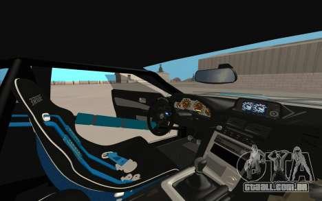 Elegy Drift King GT-1 [2.0] para GTA San Andreas vista superior