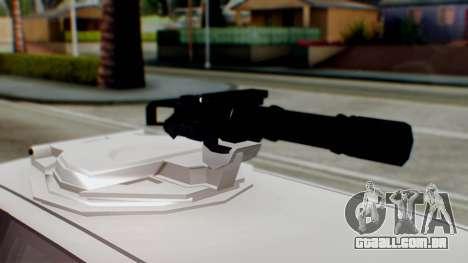 GTA 5 Benefactor Stretch E Turreted IVF para GTA San Andreas traseira esquerda vista
