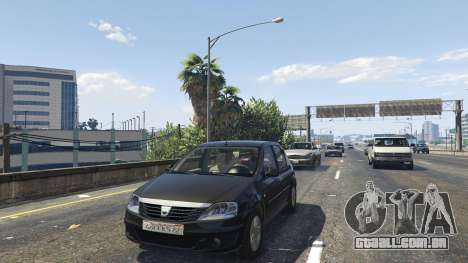 GTA 5 2008 Dacia Logan v2.0 FINAL traseira direita vista lateral