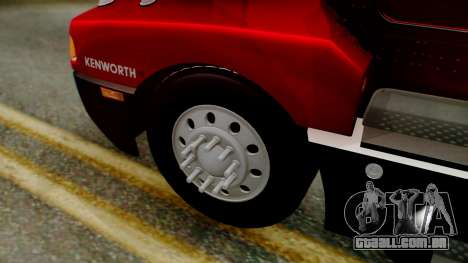 Kenworth T600 Aerocab 72 Sleeper para GTA San Andreas vista direita