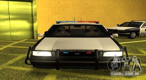 Police LS para GTA San Andreas esquerda vista