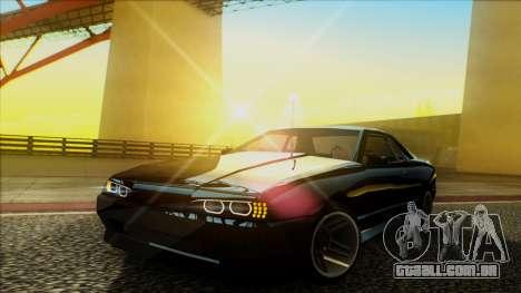 Elegy HellCat para GTA San Andreas vista traseira
