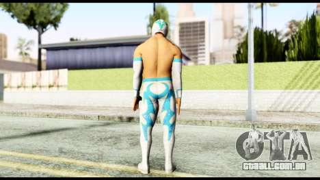 WWE Sin Cara para GTA San Andreas terceira tela