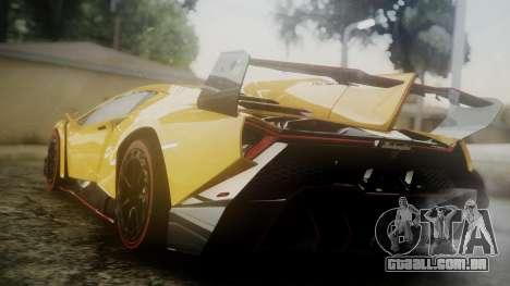 Lamborghini Veneno 2012 para GTA San Andreas esquerda vista
