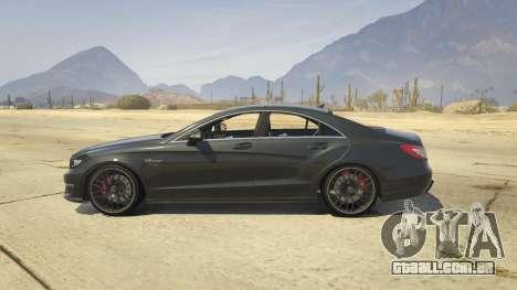 Mercedes-Benz CLS 63 AMG v.1.2 para GTA 5