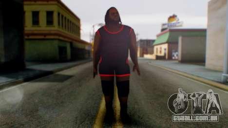 Mark He WWE para GTA San Andreas segunda tela