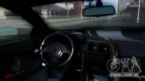 Lamborghini Murcielago LP670-4 SV 2010 para GTA San Andreas vista interior