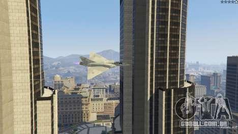 GTA 5 Dassault Mirage 2000-C FAB quinta imagem de tela