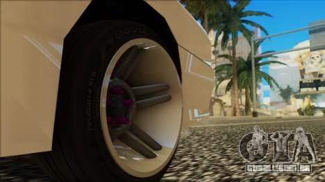 Elegy HellCat para GTA San Andreas vista superior