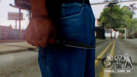 GTA 5 Bodyguard Switchblade para GTA San Andreas terceira tela
