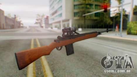 Arma2 M14 Sniper para GTA San Andreas segunda tela
