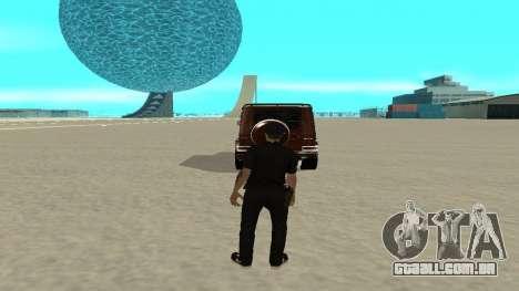 Uma saída rápida de transporte para GTA San Andreas segunda tela