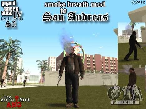 Casais boca CJ ya e transeuntes para GTA San Andreas
