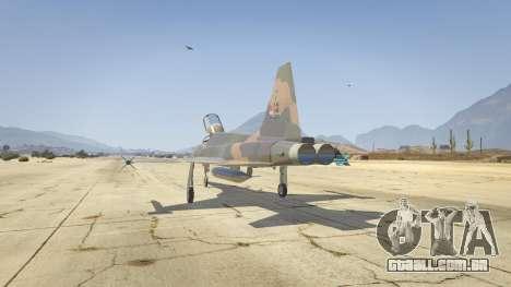GTA 5 Northrop F-5E Tiger II FAB terceiro screenshot